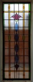 art deco stained glass-A229