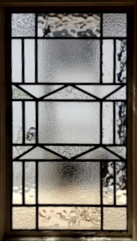 art deco stained glass-A231