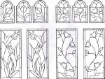 D107 - stained glass edwardian
