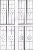 D111 - victorian Stained Glass