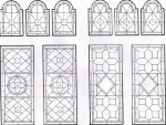 D109 - stained glass victorian