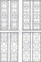 D110 - victorian Stained Glass