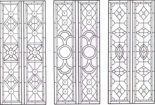 D108 Stained Glass Victorian