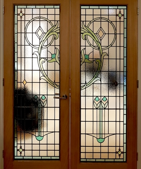 Edwardian Stained Glass-Ed1510