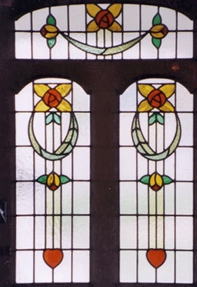 Edwardian Stained Glass-Ed101