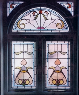 Edwardian Stained Glass-Ed102