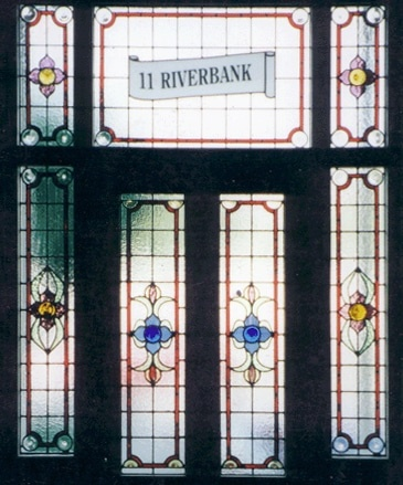 Edwardian Stained Glass-Ed103