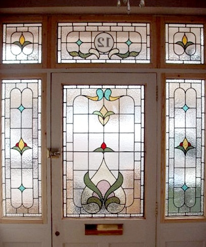 Edwardian Stained Glass-Ed105