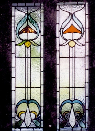 Edwardian Stained Glass-Ed106
