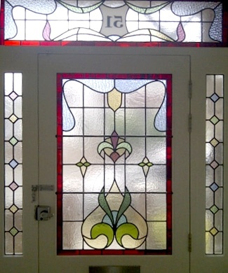 Edwardian Stained Glass-Ed107