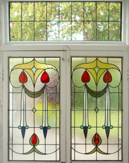 Edwardian Stained Glass-Ed108