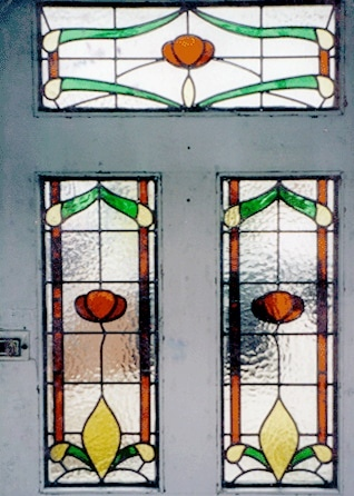 Edwardian Stained Glass-Ed109