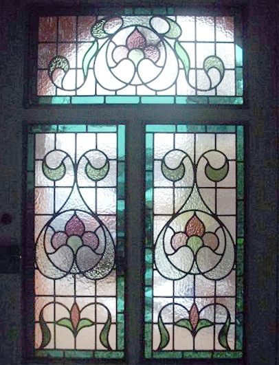 Edwardian Stained Glass-Ed110
