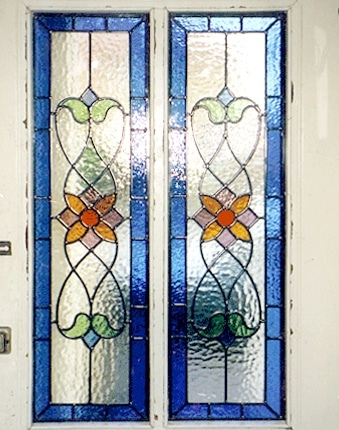 Edwardian Stained Glass-Ed111
