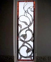 Edwardian Stained Glass-Ed113