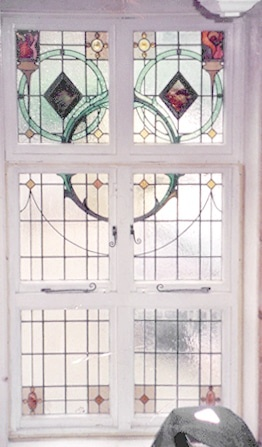 Edwardian Stained Glass-Ed115