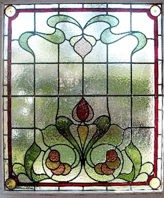 Edwardian Stained Glass-Ed118