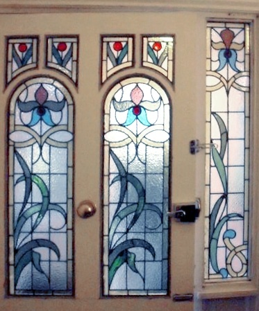 Edwardian Stained Glass-Ed120