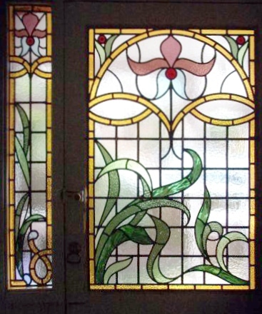 Edwardian Stained Glass-Ed202