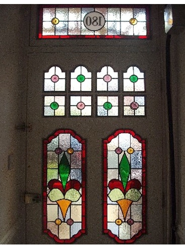 Edwardian Stained Glass-Ed203