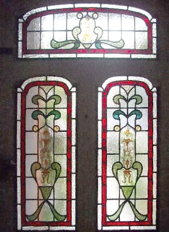 Edwardian Stained Glass-Ed204