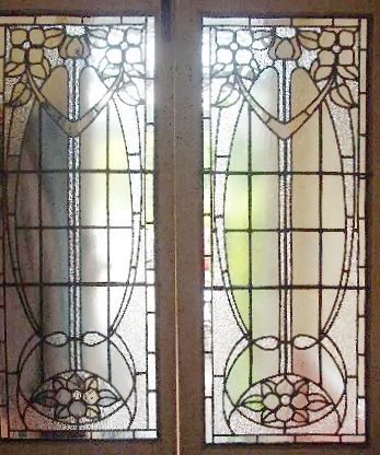 Edwardian Stained Glass-Ed205