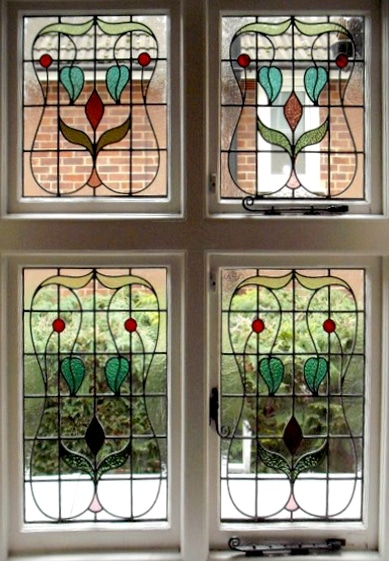 Edwardian Stained Glass-Ed206
