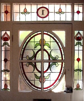 Edwardian Stained Glass-Ed207