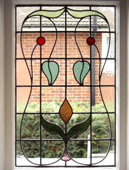 Edwardian Stained Glass-Ed208