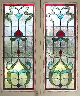 Edwardian Stained Glass-Ed209
