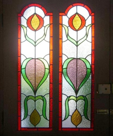 Edwardian Stained Glass-Ed210