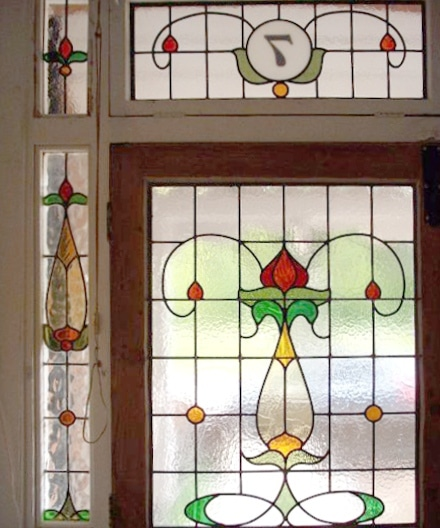 Edwardian Stained Glass-Ed211