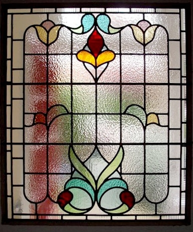 Edwardian Stained Glass-Ed213