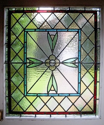 Edwardian Stained Glass-Ed214