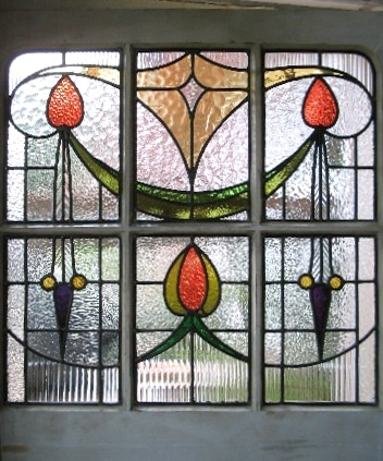 Edwardian Stained Glass-Ed215