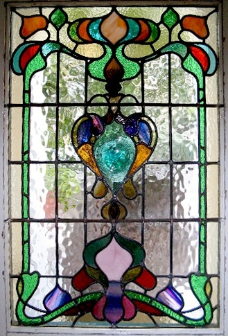 Edwardian Stained Glass-Ed216