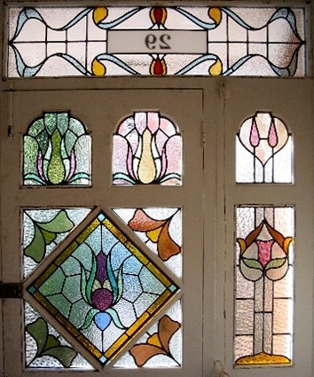 Edwardian Stained Glass-Ed217