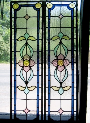 Edwardian Stained Glass-Ed218