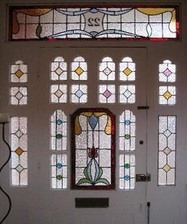 Edwardian Stained Glass-Ed220