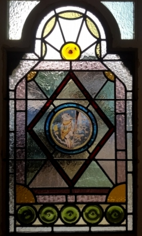 Victorian Stained Glass-V101