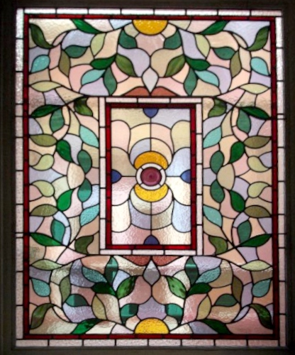 Victorian Stained Glass-V102