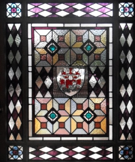 Victorian Stained Glass-V103