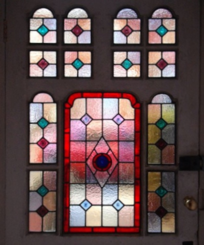 Victorian Stained Glass-V104