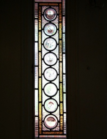Victorian Stained Glass-V106