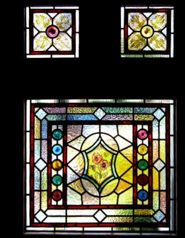 Victorian Stained Glass-V107