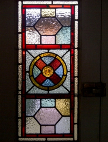 Victorian Stained Glass-V113
