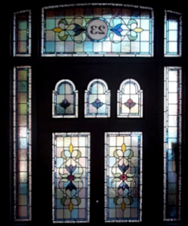 Victorian Stained Glass-V115