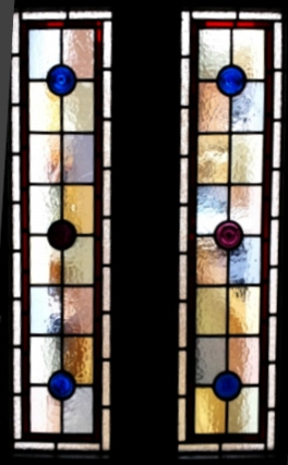 Victorian Stained Glass-V117