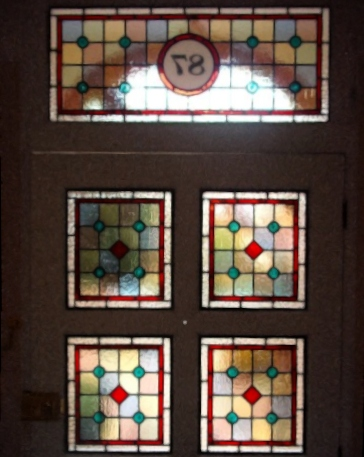 Victorian Stained Glass-V120