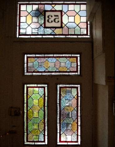 victorian Stained Glass-V201